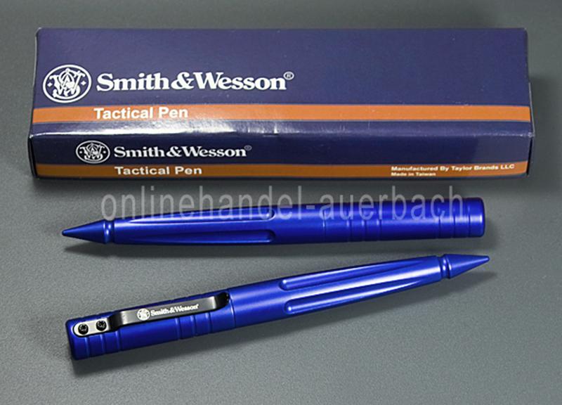 SMITH /& WESSON SWPENBL  Tactical Pen  Kugelschreiber  Kubotan  Schreibgerät